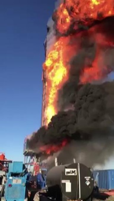 Events Leading To Explosion On Patterson UTI Rig #219