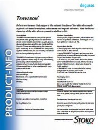 Travabon Product Info Sheet