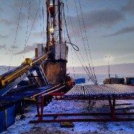 Winter Drilling Location