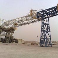 Desert Drilling Rig Move