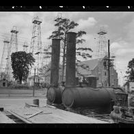 Vintage Kilgore Texas Oilfield