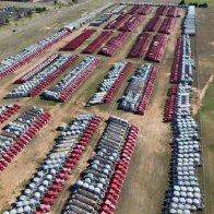 Halliburton Idle Equipment Duncan Oklahoma