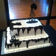 Gusher Oilfield Cake