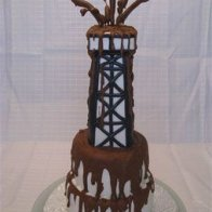 Gusher Oilfield Cake