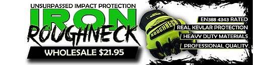 Iron Roughneck Gloves
