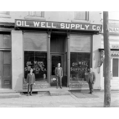 Oilwell Supply Store Circa 1890