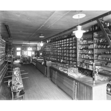 Oilwell Supply Store Inside Circa 1890