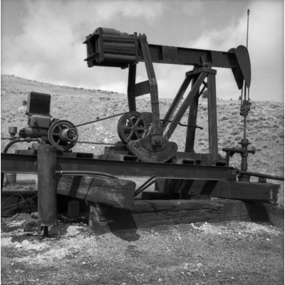 Pump Jack On Timbers