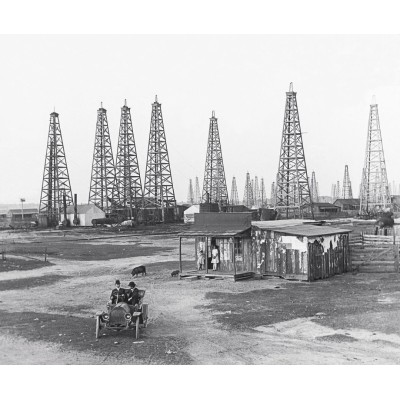 1903 Spindletop Oilfield