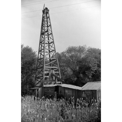 Charleston West Virginia Oil Derrick