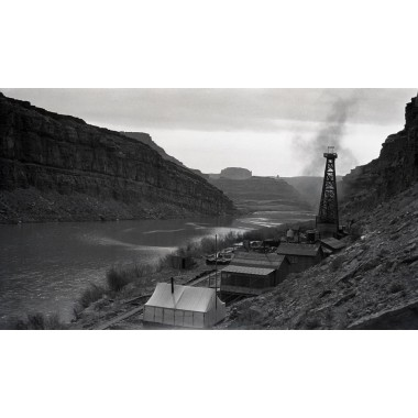 Early Montana Oil Well