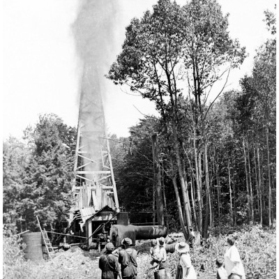 Shooting A Well Circa 1890