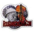 Roughneck City Oilfield Sticker