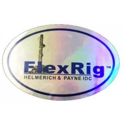 H&P FlexRig  Oilfield Sticker