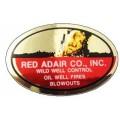Red Adair Oilfield Sticker