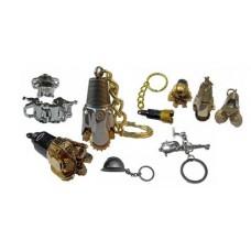Rock Bit Oilfield Keychain