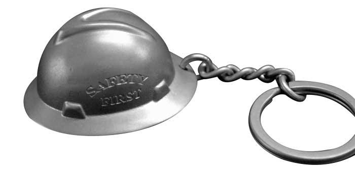 Oilfield Hard Hat Keychain