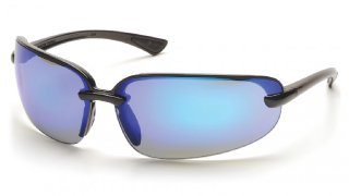 Protocol SB6265D Ice Blue Mirror Lens - Black Frame