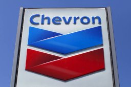 Chevron reported its quarterly results Friday. PHOTO: MIKE BLAKE/REUTERS/ZUMA PRESS
