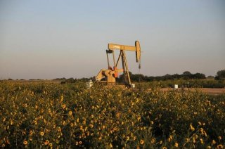 A pump jack operates at a well site leased by Devon Energy Production Company near Guthrie, Oklahoma September 15, 2015. (Photo:Reuters: Nick Oxford)