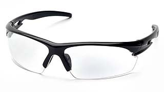 Ionix SB8110DT Clear Anti-Fog Lens - Black Frame