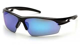 Ionix SB8165D Ice Blue Mirror Lens - Black Frame