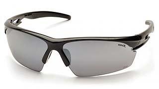 Ionix SB8170D Silver Mirror Lens - Black Frame