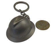 Oilfield Hard Hat Keychain
