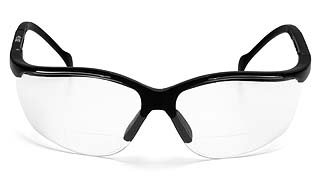 Venture II SB1810R Clear Reader Lens - Black Frame