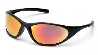 Zone II SB3345E Ice Orange Lens - Matte Black Frame