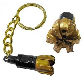 PDC Drill Bit Keychain