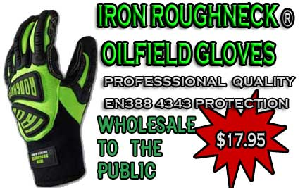 Professional hand protection should not cost you an arm and a leg! Try a pair of Iron Roughneck� Gloves today- Still just $17.95