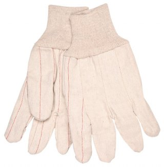 Cotton Gloves-18oz. Double Palm Oilfield Glove
