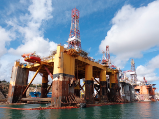 The US oil rig count fell this week for the first time in 11 weeks