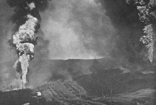 Tampico Oilfield Fire Of 1921