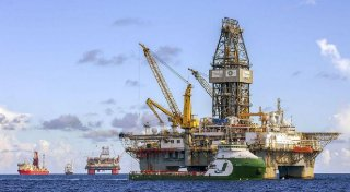 BP's Thunder Horse platform in the Gulf of Mexico.