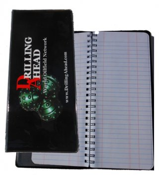 Wire Bound Full Sized Drill Pipe Tally Book