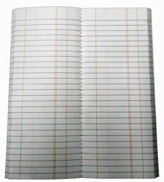 Tally Book Refill-Standard Size Tally Book
