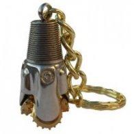 Roughneck Oilfield Drill Bit Keychains