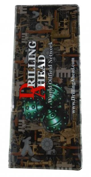 Full Size Drill Pipe Tally Book-Oilfield Camo