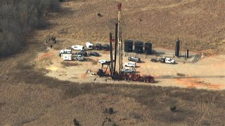 Human remains found at Oklahoma drilling site.