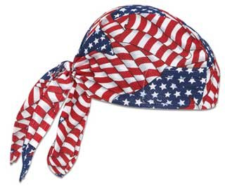 High-Performance Dew Rag-Stars and Stripes