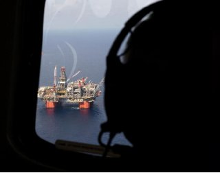Representative Steve Scalise views BPs Thunder Horse Oil Platform in the Gulf of Mexico from the air 150 miles from the Louisiana coast