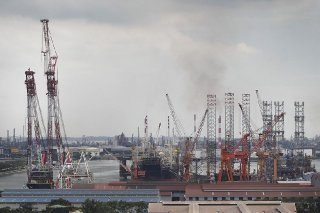 MOM cited systemic failures at Jurong Shipyard 'that made the workplace dangerous'. ST FILE PHOTO.