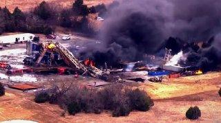 Quinton Oklahoma Deadly Drilling Rig Explosion