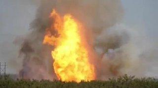 Midland Texas Pipeline Explosion