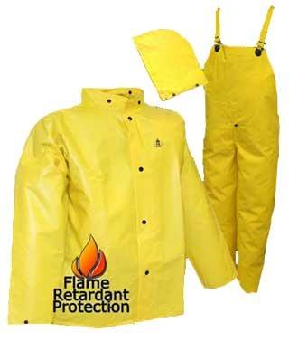 DuraScrim™ Tough and Durable Fr Fire Resistant Rain Wear