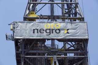 An Oro Negro oil drilling rig operated by Petroleos Mexicans (Pemex) in 2014. Attorneys for the company's creditors this past weekend flew in helicopters to one of Oro Negro's drilling rigs in the Gulf of Mexico and attempted to seize them.