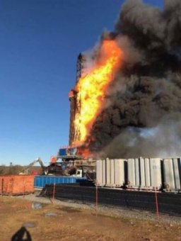 Quinton Oklahoma rig explosion that claimed lives of 5 workers