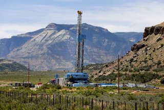 A WPX Energy Inc. rig drills for natural gas outside Rifle Colorado